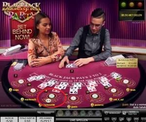 Bet Behind bij Kroon Casino