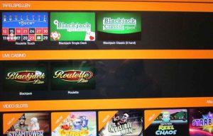 Kroon Casino mobiele website