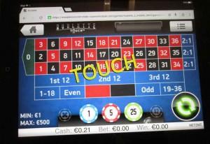 Oranje Casino Roulette Touch